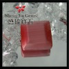 square pink synthetic cat eye stone CESQ0001