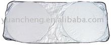 Silver Coating Fabric Car Spring Sunshade