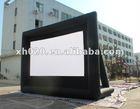 2013 Hot sale indoor or outdoor commercial grade vinyl tarpaulin inflatable movie screen