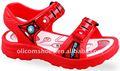 2013 novo modelo plano sandálias para meninos