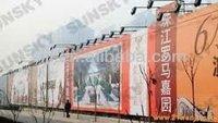 PVC coated tarpaulin fabric,advertising tarpaulin banner,tent fabric material