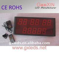 alibaba cn 2.3 inch red new mini led digital clock for car