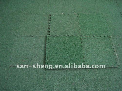 artificial grass + EVA Foam interlocking puzzle mat