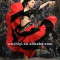 2014 plus size elegante algodão saia dança