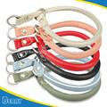 6 cores laminado couro pet coleiras para animais de estimação do cão