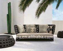 Fashion rattan furniture long sofa MY10NT32