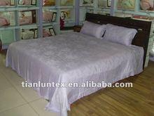 natural jacquard bamboo bedding sets