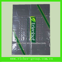 printed ldpe plastic film with holes
