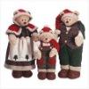 christmas decoration a family teddy bear