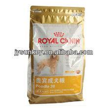 Plastic PET Food Bag with printing and quarter seal