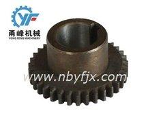 machining spur gear lloy steel forged gear