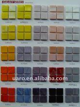 Sisic design natural iridium 15x15mm murano glass smalto mosaic