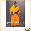 Pvc / clásicos de poliéster amarillo impermeable a prueba de agua de la ropa PVC