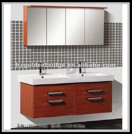 48 vaidade do banheiro armário pia dupla p013Toucador em banheiroID  -> Pia Banheiro Dupla