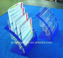 A4 clear acrylic brochure holder for office