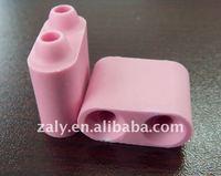 White and pink Alumina ceramic beads