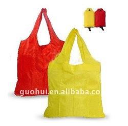 Wholesale reusable nylon folding shopping bag