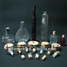 """ LEECORK"" cork stopper, cork lid for bottle, jar in various size"