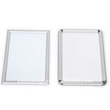 square/rounded aluminium snap frames for art display