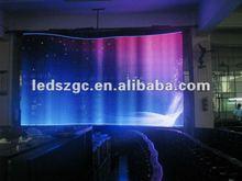 2012 New creative idea P16 outdoor led curtain
