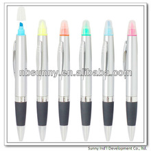 multi-function promotional bulk color highlighter marker pen