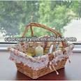 woven willow/wicker food/fruit/gift baskets