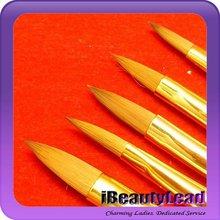 New design 5 pcs nail art brush names