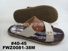 New design men sandals 2013