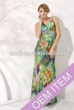 2012 sexy open back women party dress