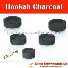 45mm, 25s lighten time, hookah (shisha) charcoal ED-SCT45