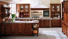 Popular Solid Wood kitchen cabinet
