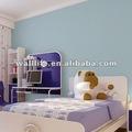 lavável pvc papel de parede para quarto de crianças