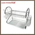 """"""" Nuevo estilo de la """" S forma de montar de plato de la cocina con bandeja de plástico de alambre estante para platos"""