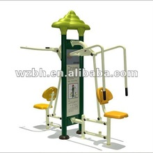 Double Luxury Combined Training Machine School Fitness Equipment Siiting Pull and Sitting Push BH16804