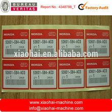 Colorful sticker label printer, Golden Supplier