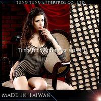 Taiwna factory three quarter sleeves black mature women sexy lingerie