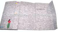 Decorating Fabric Scrapbook Cover