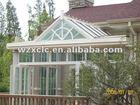 Custom made aluminium glass house stylish and good quality