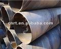 de acero al carbono tubo en espiral