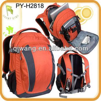 fashion nylon laptop bag backpack