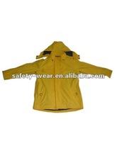 PU coated tricot rain jacket