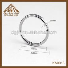 Nice mens stainless steel mesh ring