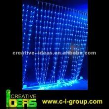 Energy Saving christmas led curtain light, Commercial LED Decorations