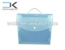 Manufacture plastic PP portable box file a3 size