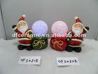 christmas present ceramic santa claus ornaments