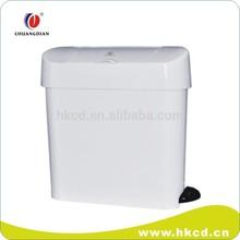 15L Foot pedal plastic waste Bin CD-7001A