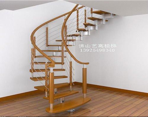 Las escaleras de madera dise o yg9001 2 escaleras - Escaleras de caracol modernas ...