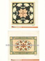 pattern design ceramic tile/porcelain tile rectified/pattern mosaic