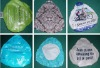 Silk-Screen Printing Plastic Bike Saddle Cover for Gift