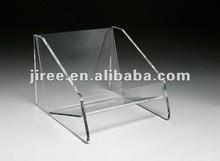 Clear Acrylic CD Rack--CD Display